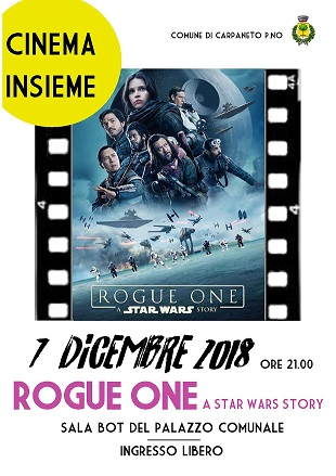 Cinema insieme: ROGUE ONE a star wars story